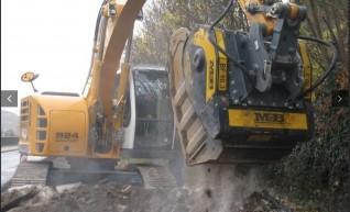 14 Ton Excavator Screening Bucket & Crusher Bucket 1