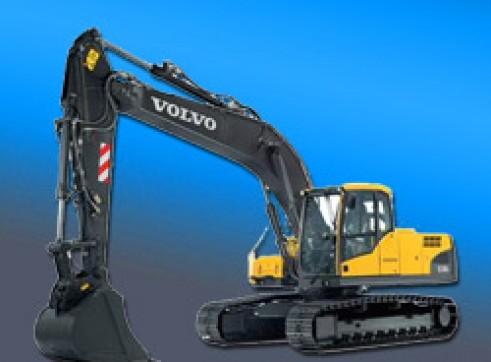 14 Ton Volvo - Steel track excavator