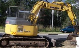 14 Tonne Excavator  1