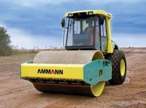14.5T Ammann articulated Smooth Drum Roller 1