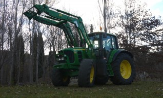 140 hp John Deere 6830 Tractor With Cabin & Loader  1