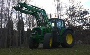 140 hp John Deere 6830 Tractor With Cabin & Loader  1