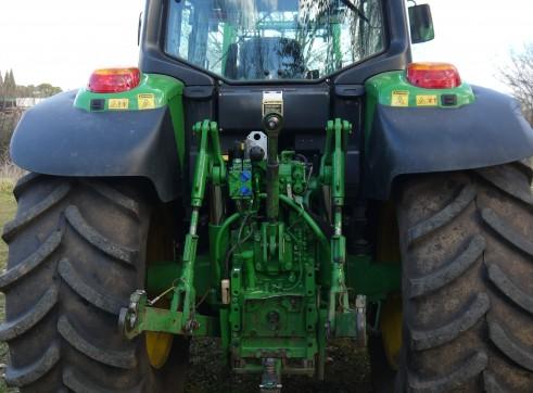 140 hp John Deere 6830 Tractor With Cabin & Loader  2