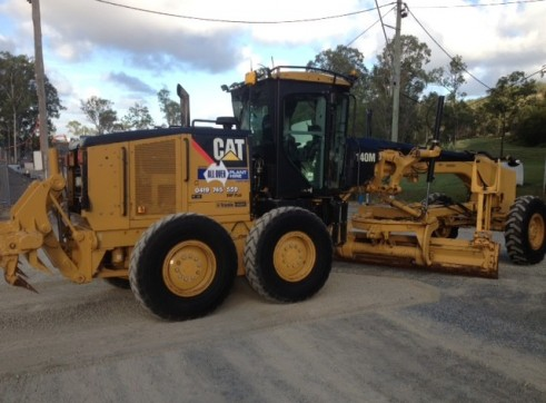 140M Cat Grader With full Trimble GPS/UTS 1