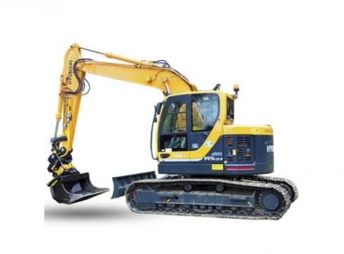 14.5t Hyundai R145CRD-9 Excavator with a/c cab