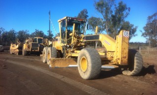 14H Grader with Topcon GPS/LPS 1