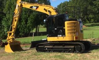 14T Caterpillar Excavator w/ROPS & FOPS 1