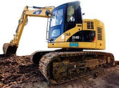 14T Caterpillar Excavator w/ROPS & FOPS 6
