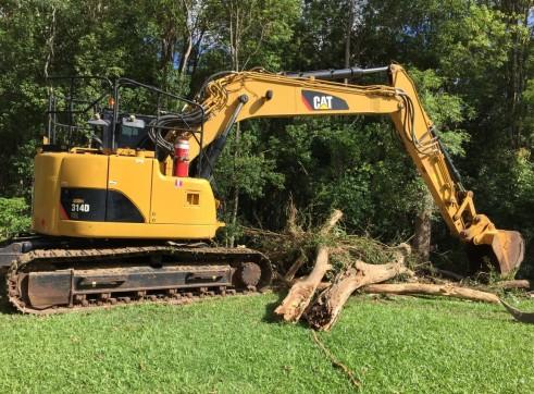 14T Caterpillar Excavator w/ROPS & FOPS 4