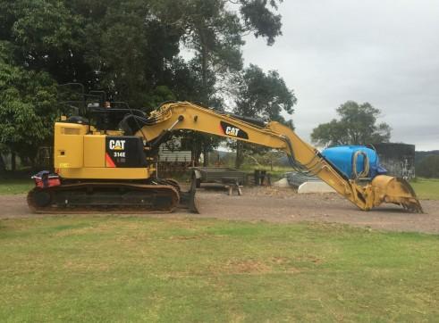 14T Caterpillar Excavator w/ROPS & FOPS 5