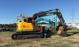 14T Volvo ECR145 CL Excavator w/Topcon 3D GPS 1