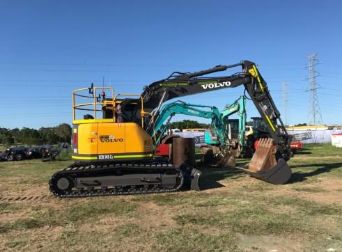 14T Volvo ECR145 CL Excavator w/Topcon 3D GPS