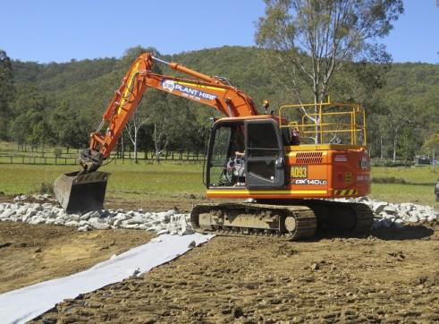 14T Excavator w/GPS