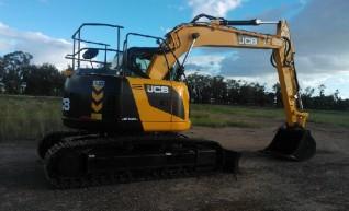 14T - JCB ZJ140D Zero swing Excavator 1