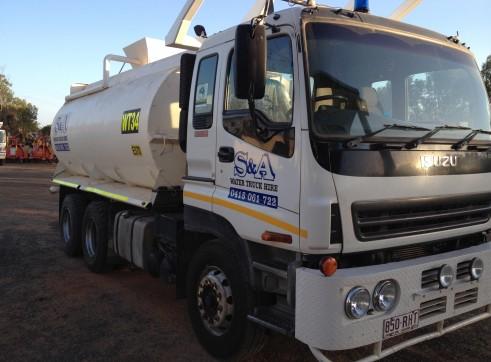 15,000L Isuzu Giga 385 Water Truck w/ Mine Spec 1