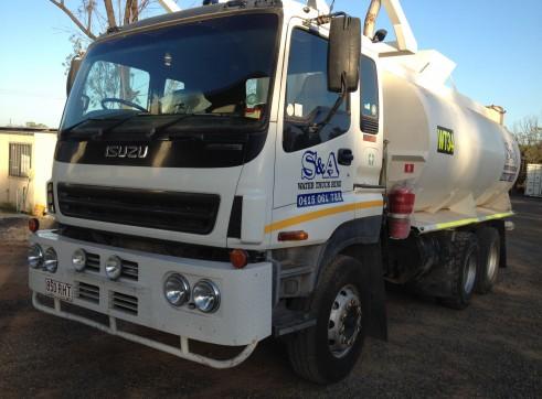15,000L Isuzu Giga 385 Water Truck w/ Mine Spec 2
