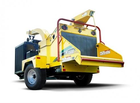 15 Inch Wood Chipper & Tipper Truck 2