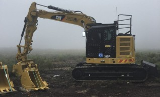 15T Caterpillar 315 Excavator w/blade 1