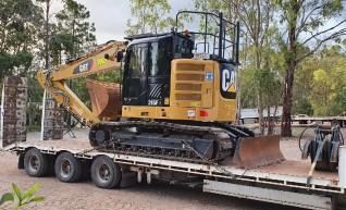 15T Caterpillar Zero Swing Excavator w/GPS 1