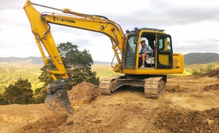 15T Detank Excavator 1