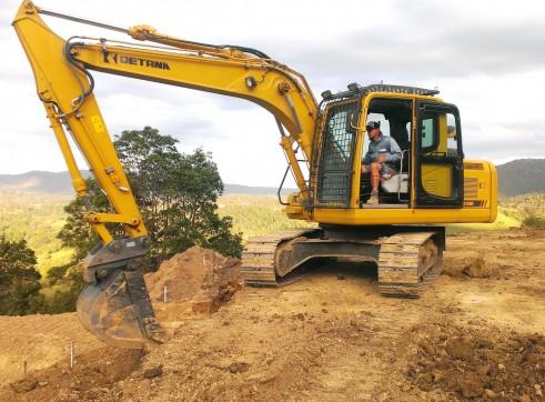 15T Detank Excavator