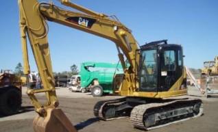 15T Excavator Caterpillar 314 with grab 1