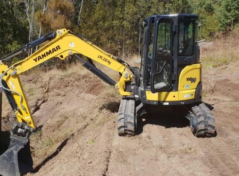 15T Sumitomo Excavator - Zero Swing 9