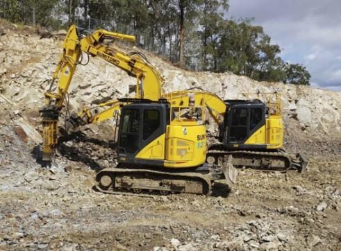 15T Zero Swing Sumitomo Excavator 1