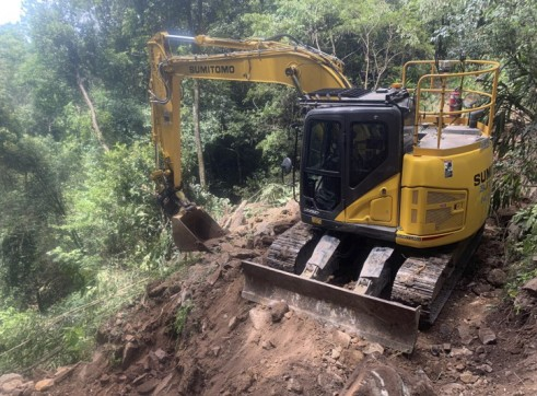 15T Zero Swing Sumitomo Excavator 5