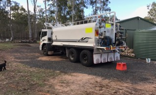 16,000Ltr Water Truck 2004 International Acco  1