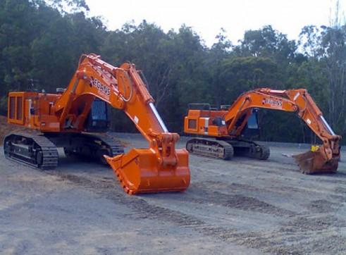 16 - 30T Excavators 1
