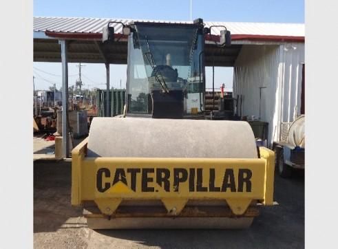 16 Tonne Caterpillar CS583D Smooth Drum Roller 3