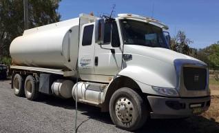 16,000L CAT Water Truck 1