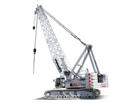 160T Liebherr LR1160 Crawler Crane 1