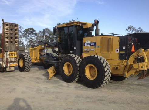 16ft Grader w/Rippers - Push Block - GPS/UTS & Total Station
