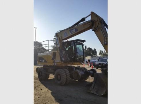 16T Caterpillar Wheeled Hi-Rail Excavator 9