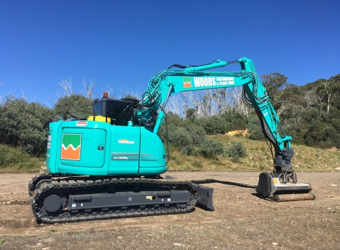 16T Excavator w/Rubber Tracks 1
