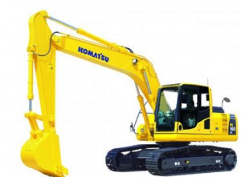 16T Komatsu PC160LC-8 Excavator