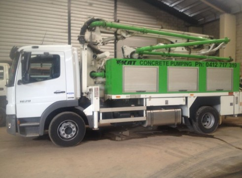17-50m Truck Mounted Boom Pumps 8