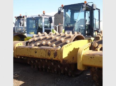 17 Tonne Caterpillar CS663E Pad Foot Roller 1