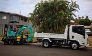 1.7T Kobelco Mini Excavator 1