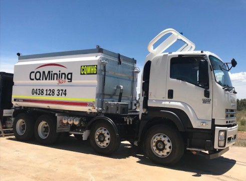 18,000L Water Truck, Mine spec.  2
