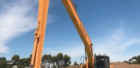 18m Long Reach Excavator  1