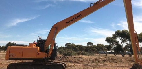 18m Long Reach Excavator  2