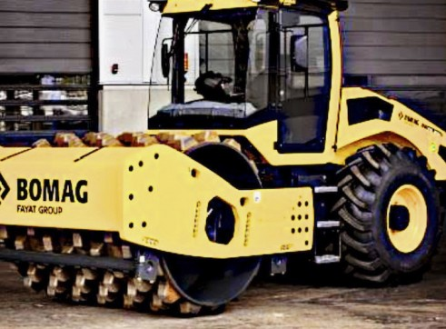18T Bomag Padfoot Roller