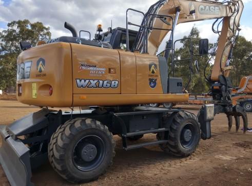 18T Case Wheeled Excavator 1