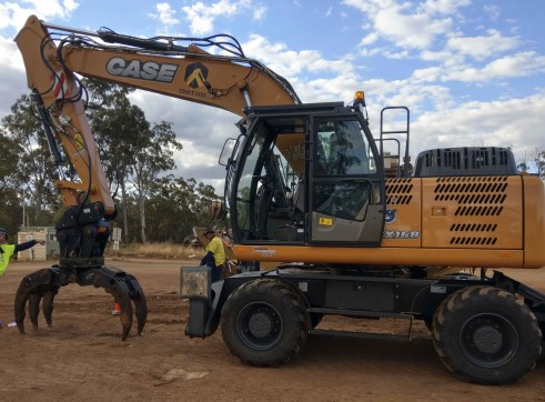 18T Case Wheeled Excavator 2