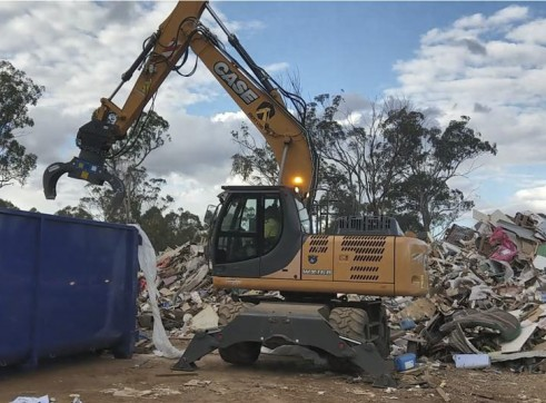 18T Case Wheeled Excavator 3