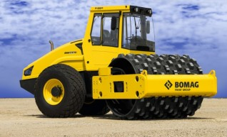 18T Padfoot Vibrating Single Drum Roller 1