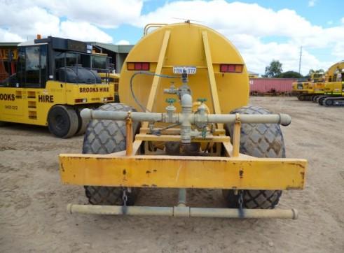 1985 16,000L MERCEDES BENZ MB TRAC Tractor Drawn Water Cart 3